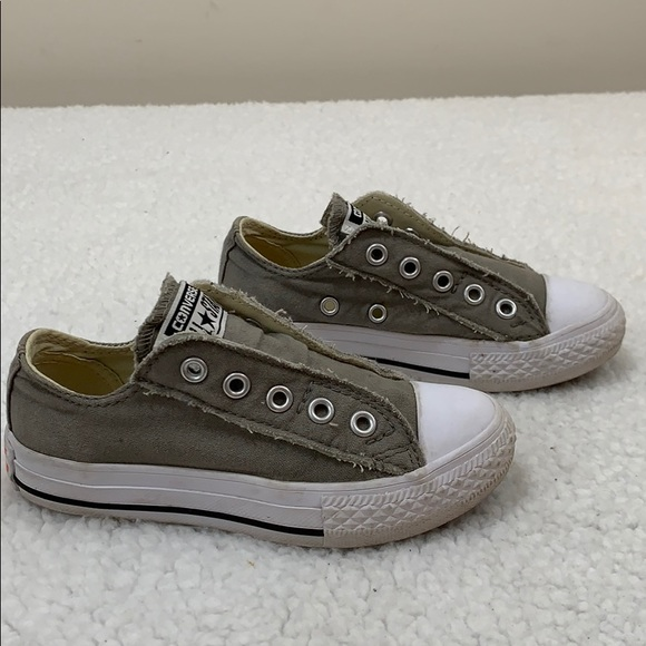 a6aaad1538 Converse Kids Chuck Taylor All Star Slip Ox Shoes